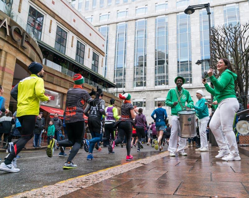 Żywotność Duży Przyrodni maraton w Londyn zdjęcie royalty free