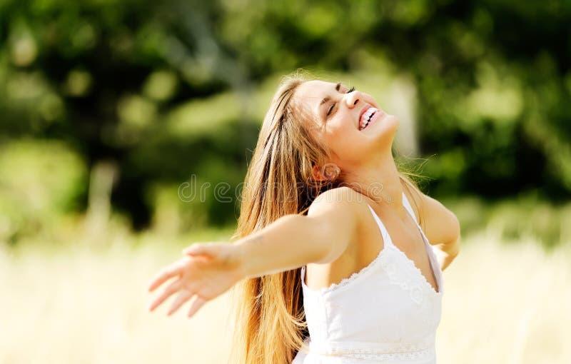 Żywotności wellness kobieta zdjęcia royalty free
