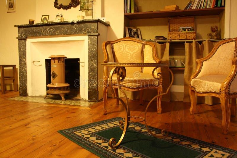 żywy izbowy tradycyjny obrazy stock