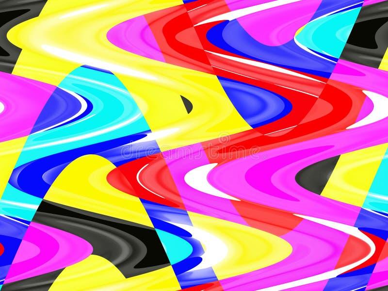 Żywy kolorowy żywy tło, grafika, abstrakcjonistyczny tło i tekstura, ilustracji