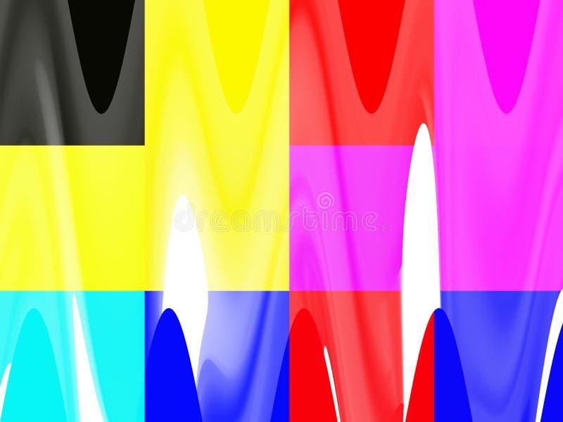 Żywy koloru tło, światła, grafika, abstrakcjonistyczny tło i tekstura, ilustracji