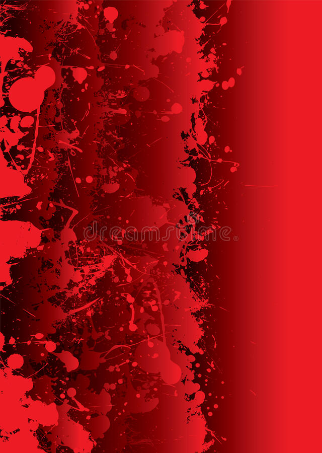 żywy krwionośny splat ilustracji