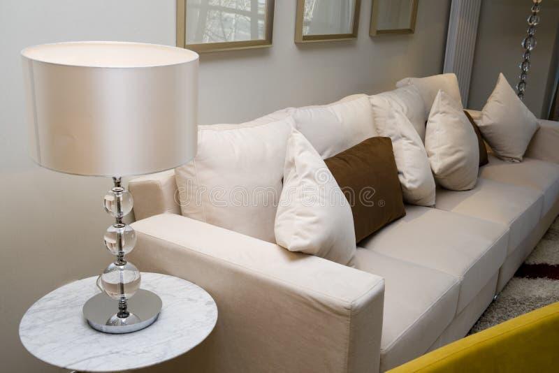żywy luksusowy nowożytny pokój zdjęcie stock