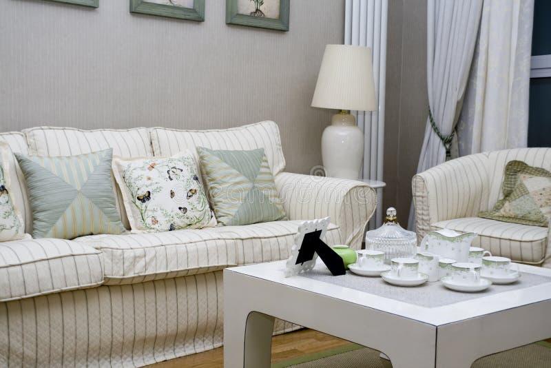 żywy luksusowy nowożytny pokój zdjęcia stock