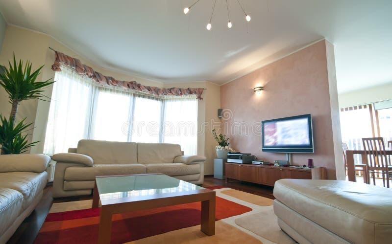 żywy luksusowy pokój zdjęcia stock