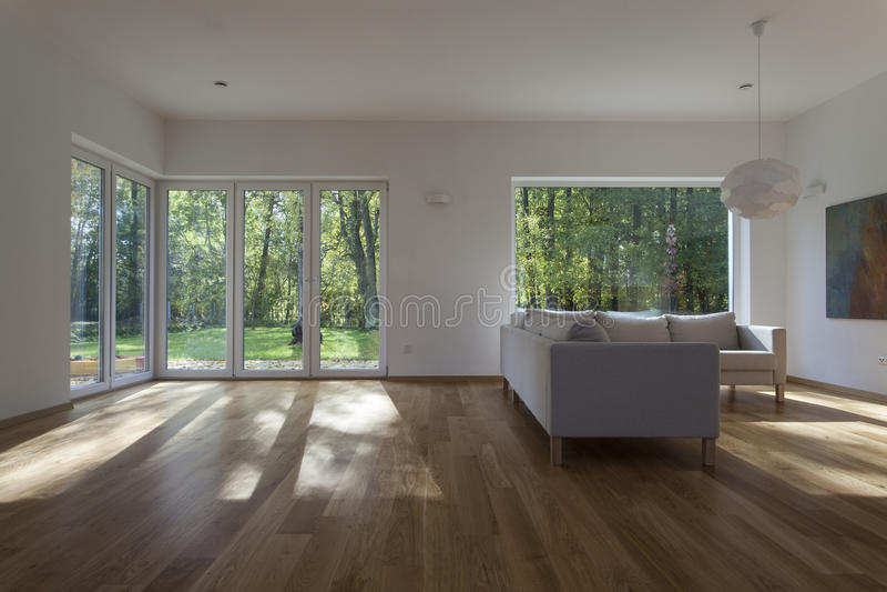 Żywy pokój zdjęcie royalty free