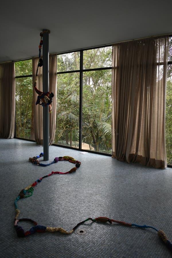 Żywy pokój Lina Bo Bardi zdjęcia stock