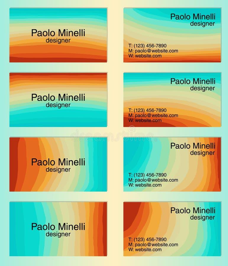 Żywych kolorów abstrakcjonistyczny tło z kreskową gradientową teksturą dla minimalnego dynamicznego okładkowego projekta, plakata royalty ilustracja