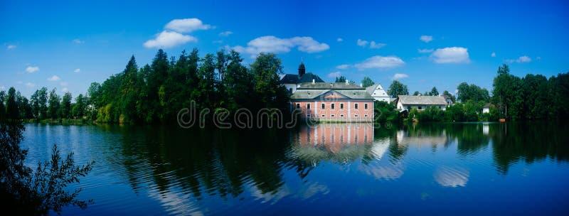 Žďár nad Sázavou Castle Panorama 1 royalty free stock image