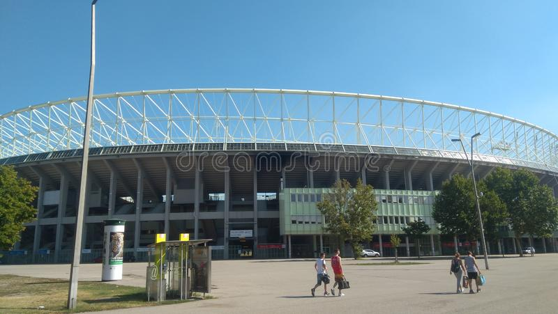 ˜º rapide du stade FC Wien image stock
