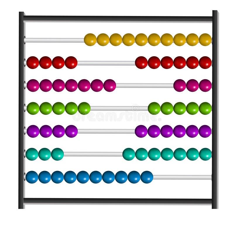άβακας απεικόνιση αποθεμάτων