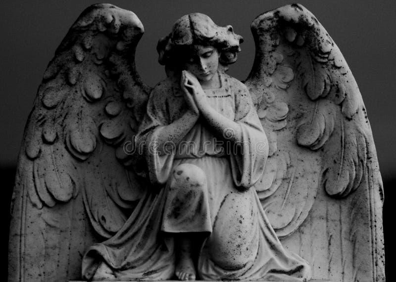 Άγαλμα αγγέλου επίκλησης στοκ φωτογραφίες με δικαίωμα ελεύθερης χρήσης