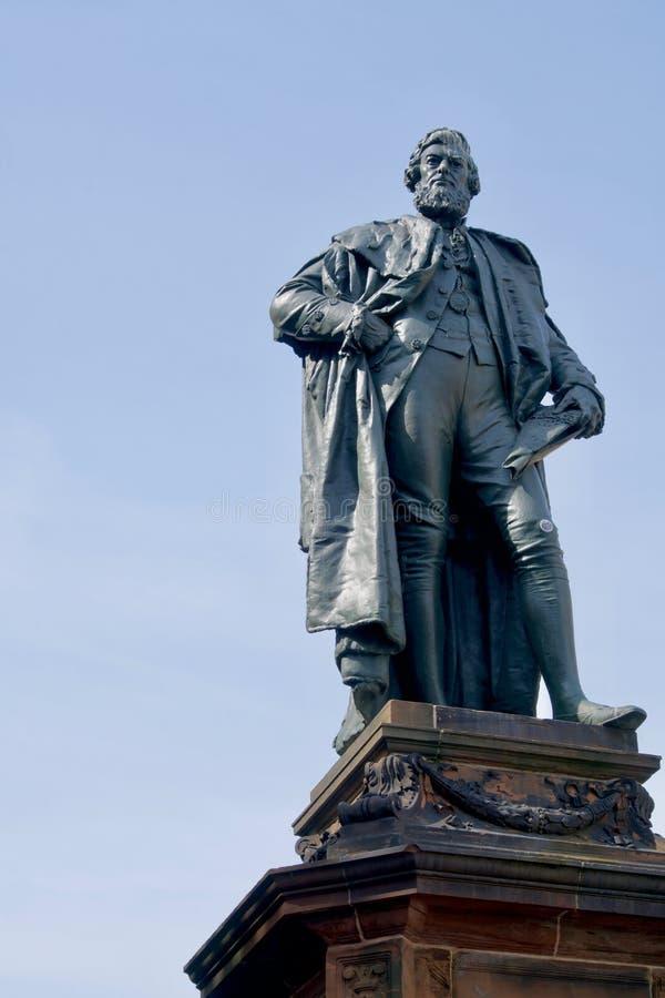 Άγαλμα αιθουσών του William στοκ φωτογραφίες