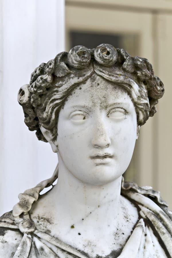 άγαλμα αρχαίου Έλληνα στοκ εικόνες