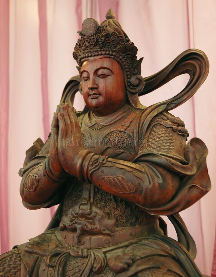 άγαλμα βουδισμού στοκ εικόνα με δικαίωμα ελεύθερης χρήσης