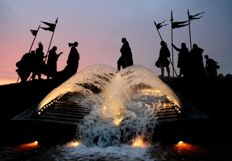 άγαλμα Δούναβη tulln στοκ φωτογραφίες