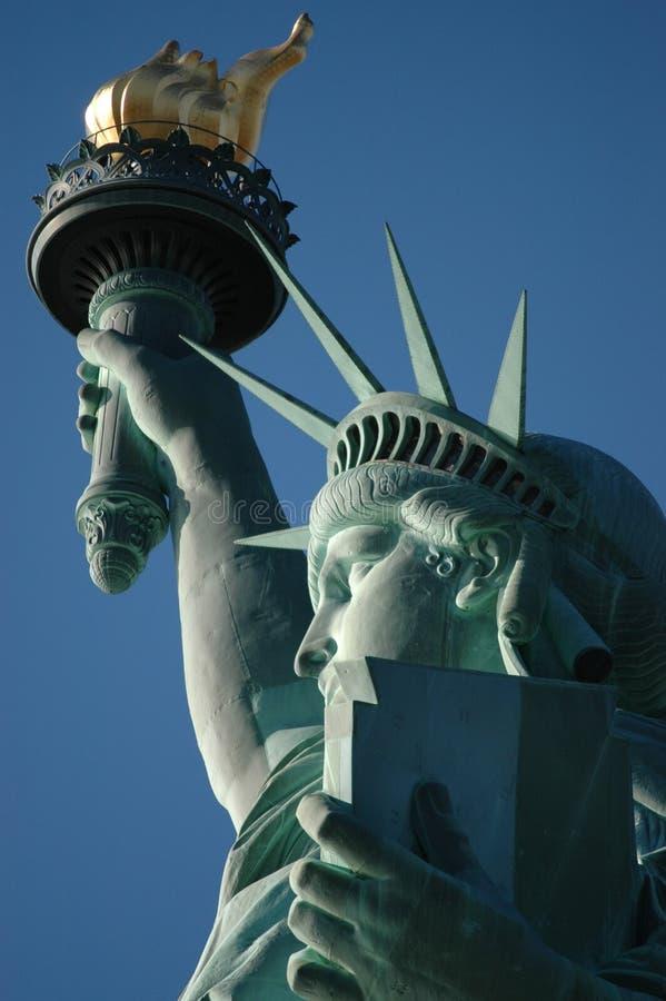Download άγαλμα ελευθερίας στοκ εικόνες. εικόνα από μάτι, στόμα - 123576