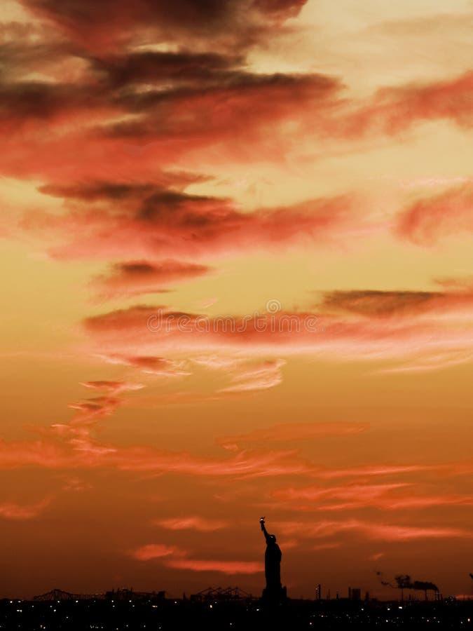 Download άγαλμα ελευθερίας στοκ εικόνα. εικόνα από πατριώτης, ελευθερία - 13180109