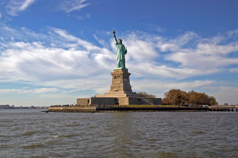 άγαλμα ελευθερίας nyc στοκ εικόνα