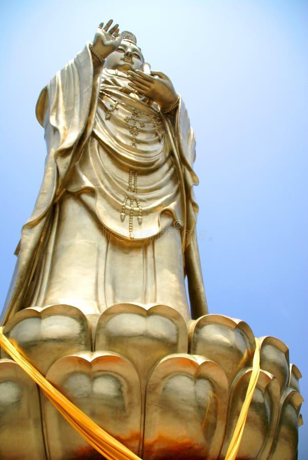 άγαλμα θεών της Κίνας στοκ εικόνες με δικαίωμα ελεύθερης χρήσης