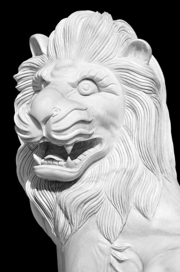 άγαλμα λιονταριών στοκ εικόνα