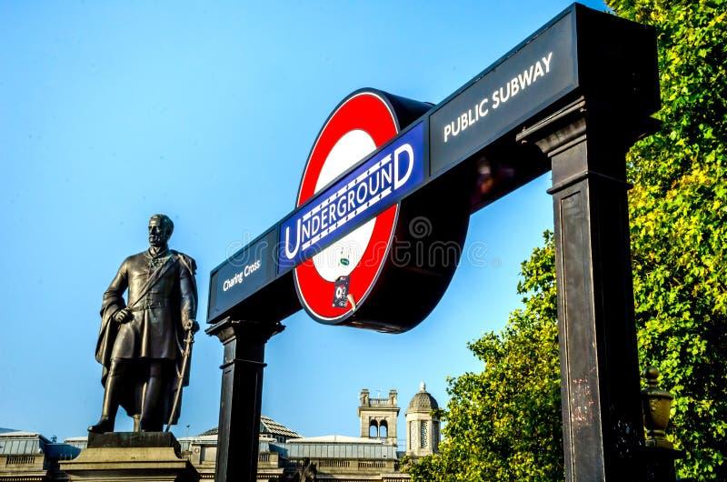 Άγαλμα σημαντικού στρατηγού ο Sir Henry Havelock K Γ Β στοκ φωτογραφία