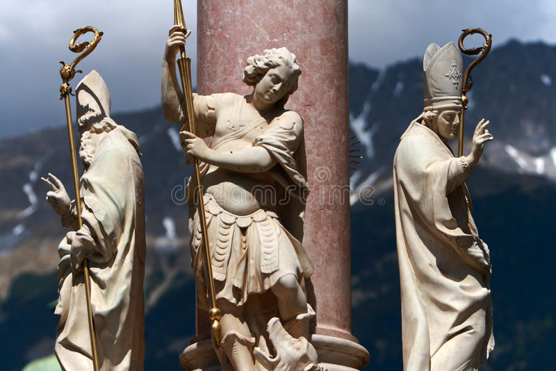 άγαλμα της Αυστρίας Ίνσμπρ& στοκ φωτογραφία