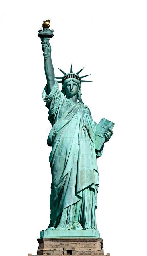 Άγαλμα της ελευθερίας. Νέα Υόρκη, ΗΠΑ. στοκ εικόνες