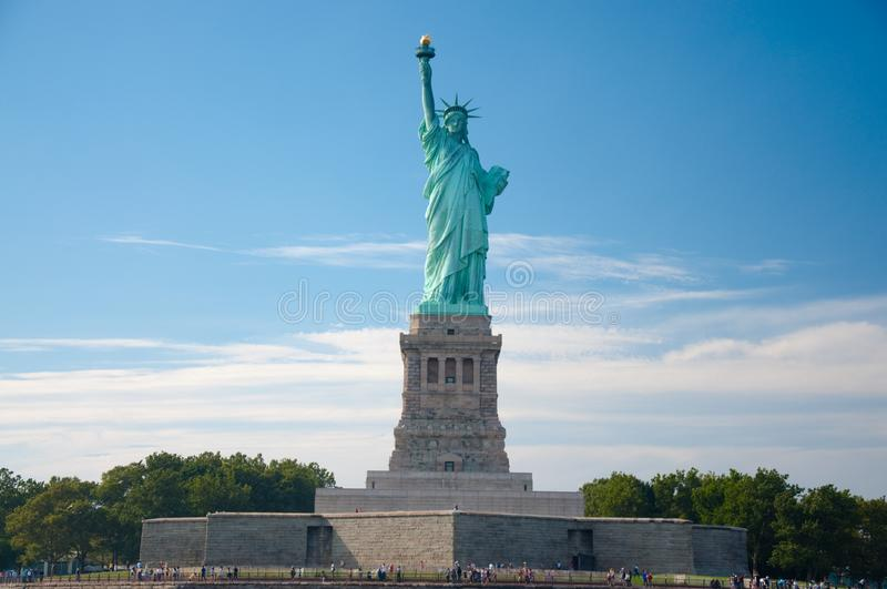 Άγαλμα της ελευθερίας στοκ φωτογραφία με δικαίωμα ελεύθερης χρήσης