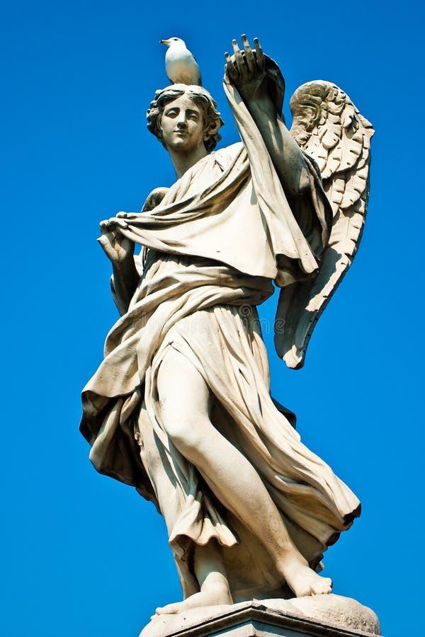 άγαλμα της Ρώμης αγγέλου στοκ φωτογραφία