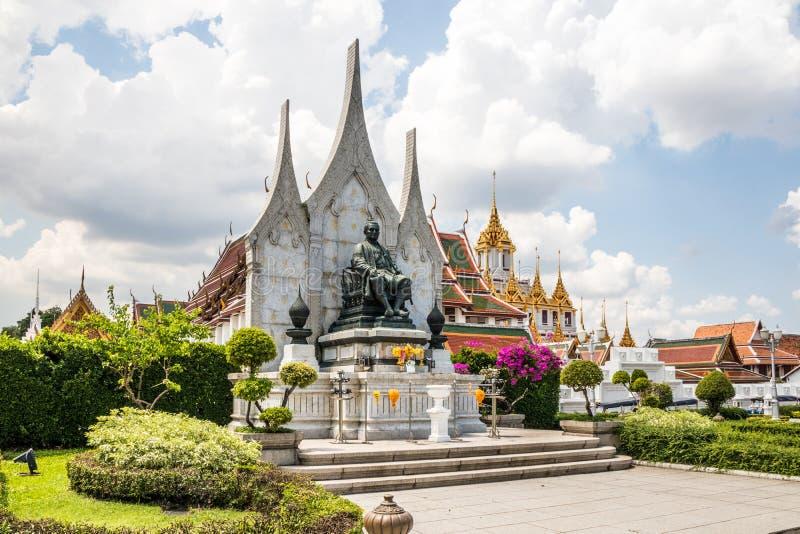 Άγαλμα του βασιλιά Rama ΙΙΙ στοκ φωτογραφία με δικαίωμα ελεύθερης χρήσης