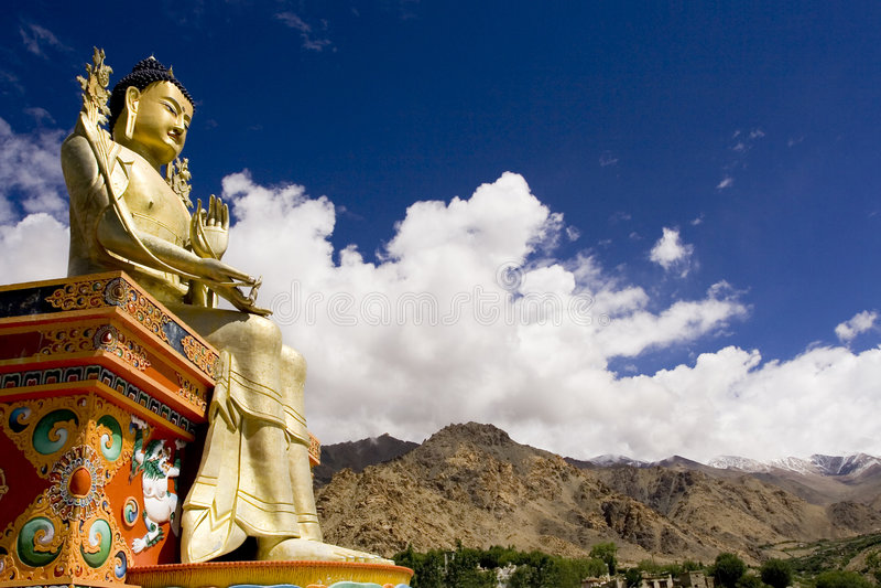 άγαλμα του Βούδα Ιμαλάια στοκ εικόνες