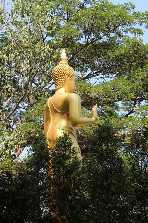 Άγαλμα του Βούδα σε Chiang Mai Ταϊλάνδη στοκ εικόνες
