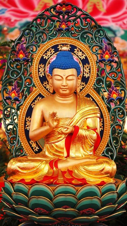 Download άγαλμα του Βούδα στοκ εικόνα. εικόνα από καθίστε, λωτός - 86349