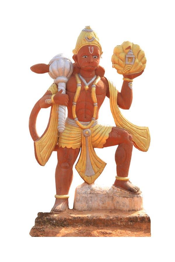 Άγαλμα του ινδού Θεού Hanuman στοκ φωτογραφία με δικαίωμα ελεύθερης χρήσης