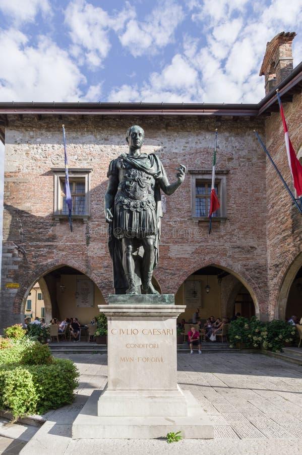 Άγαλμα του Ιουλίου Καίσαρα Cividale del Friuli στοκ εικόνες με δικαίωμα ελεύθερης χρήσης