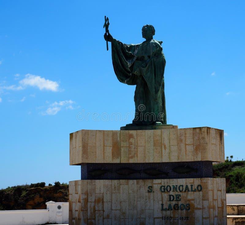 Άγαλμα του Σάο Goncalo de Λάγκος στοκ φωτογραφία με δικαίωμα ελεύθερης χρήσης