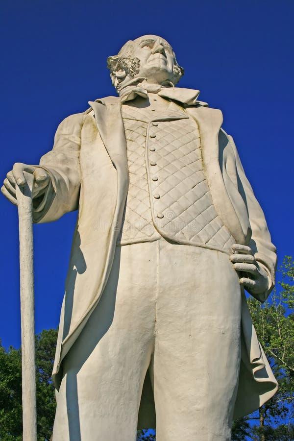 άγαλμα του Χιούστον SAM στοκ φωτογραφία με δικαίωμα ελεύθερης χρήσης