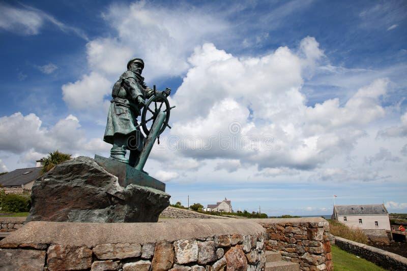 Άγαλμα του Evans Dic στοκ φωτογραφία