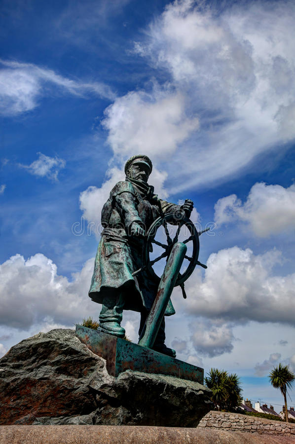 Άγαλμα του Evans Dic στοκ εικόνα με δικαίωμα ελεύθερης χρήσης