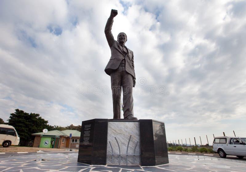 άγαλμα του Mandela Nelson στοκ εικόνες