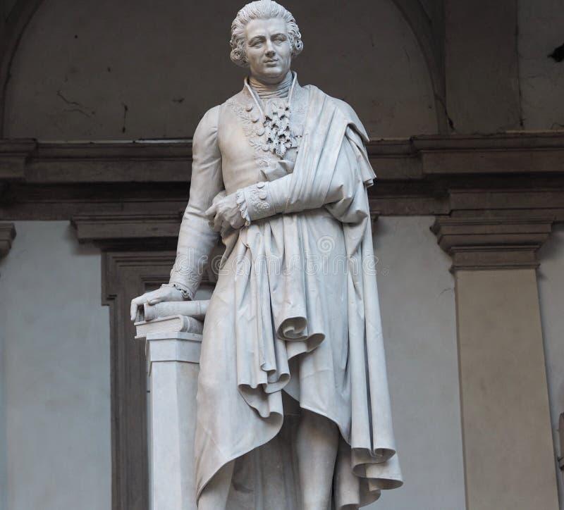 Άγαλμα του Pietro Verri στοκ εικόνες με δικαίωμα ελεύθερης χρήσης