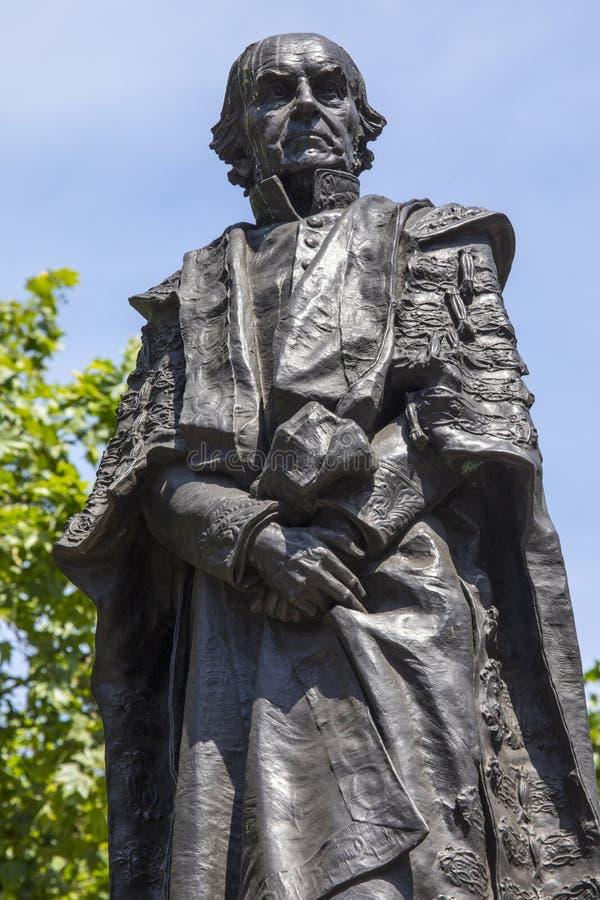 Άγαλμα του William Gladstone στο Λονδίνο στοκ φωτογραφίες με δικαίωμα ελεύθερης χρήσης