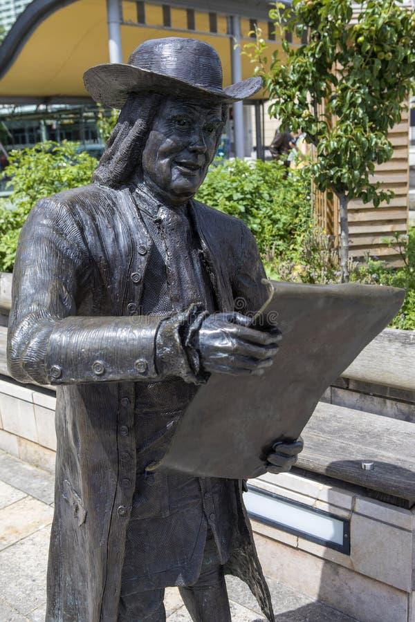 Άγαλμα του William Penn στο Μπρίστολ στοκ εικόνες με δικαίωμα ελεύθερης χρήσης