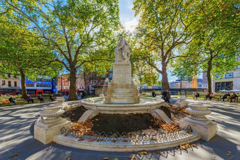 Άγαλμα του William Shakespeare στοκ φωτογραφία με δικαίωμα ελεύθερης χρήσης