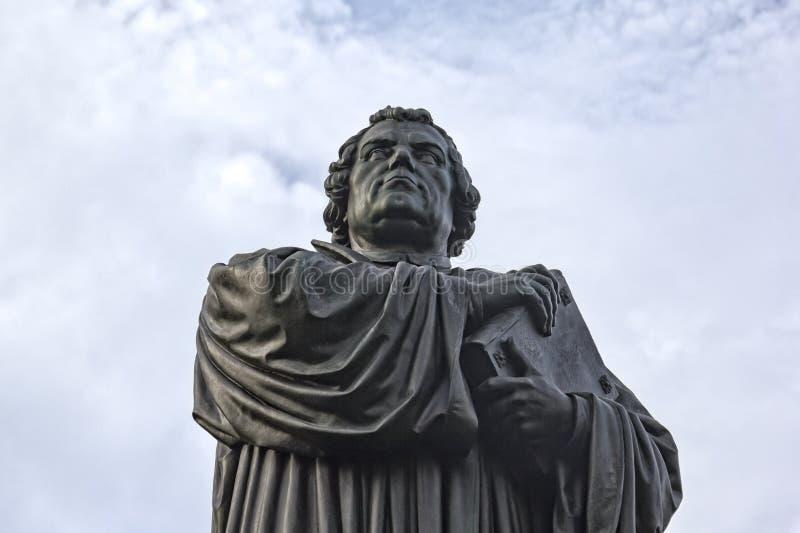 Άγαλμα χαλκού του Martin Luther σε Eisenach, Γερμανία στοκ φωτογραφία με δικαίωμα ελεύθερης χρήσης
