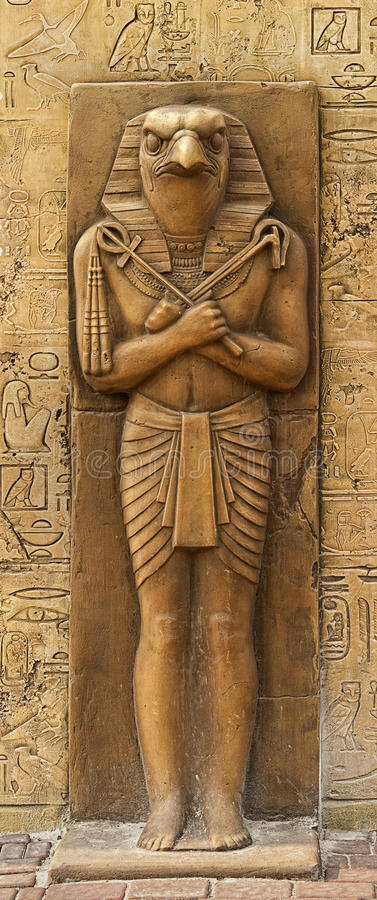 Άγαλμα Horus στοκ εικόνες
