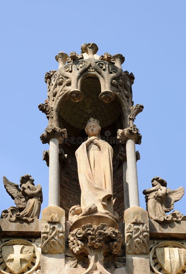 άγαλμα madonna στοκ εικόνα