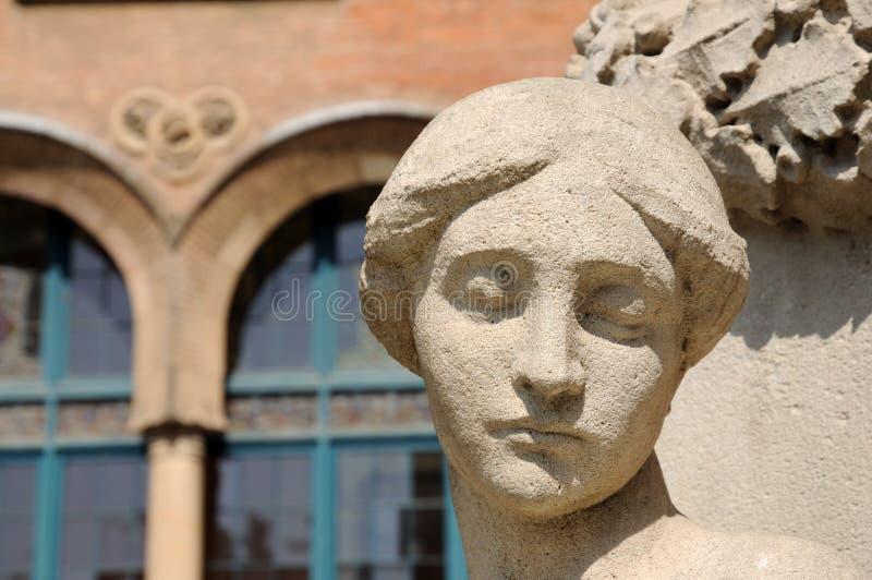 άγαλμα madonna στοκ εικόνα με δικαίωμα ελεύθερης χρήσης