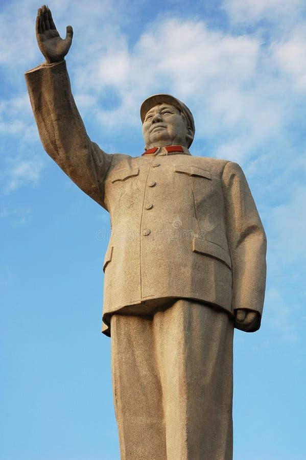 άγαλμα mao s στοκ φωτογραφίες